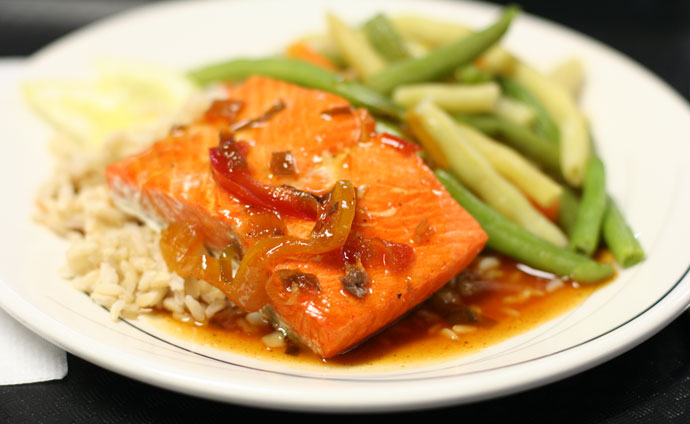 BC Ferries Salmon Entree ($11.99)