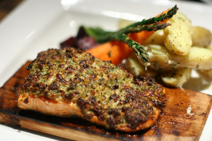 Cedar Roasted Salmon Entree at Cactus Club ($23)