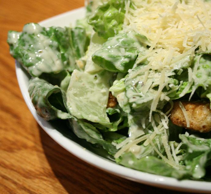 Caesar Salad at Hamilton Street Grill