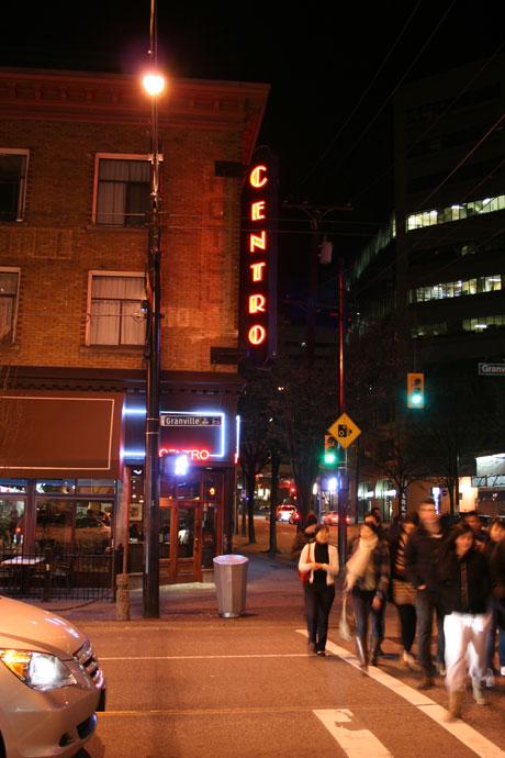 Centro Bistro in Vancouver
