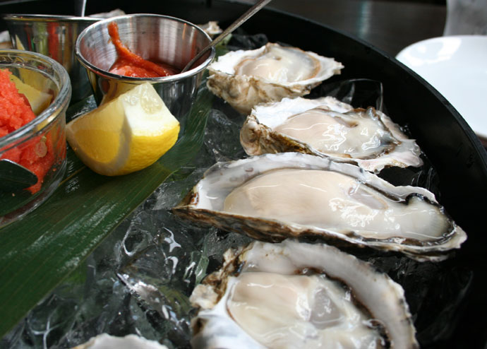 Fresh raw oysters - photo#26