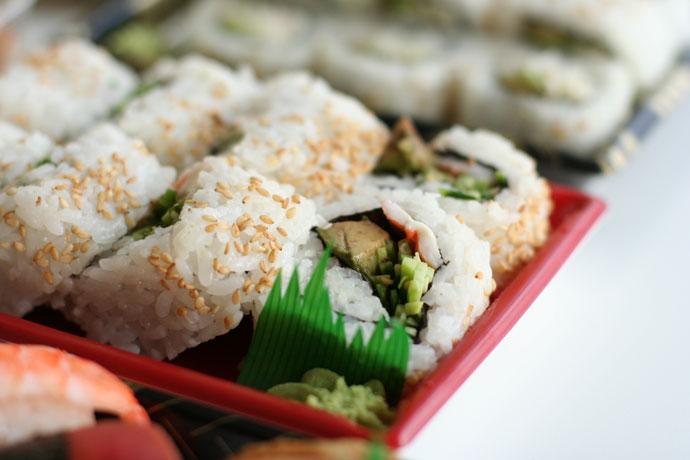 Maki sushi (around $4)