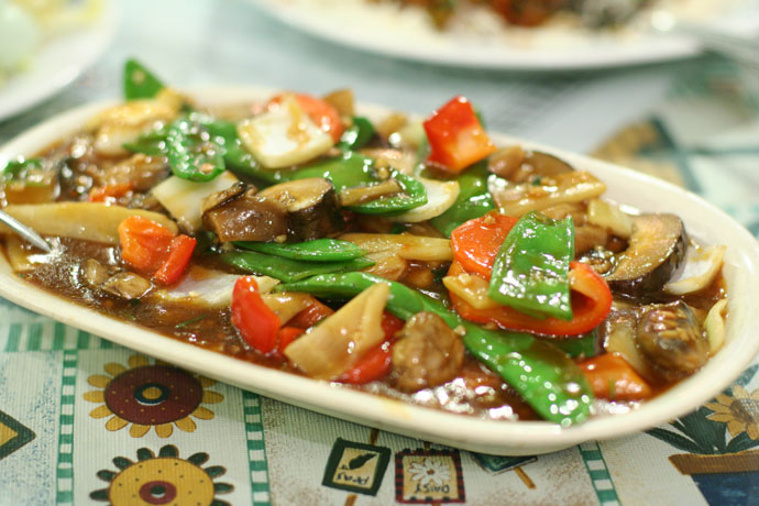 Chinese stir fried vegetables ($10.50)
