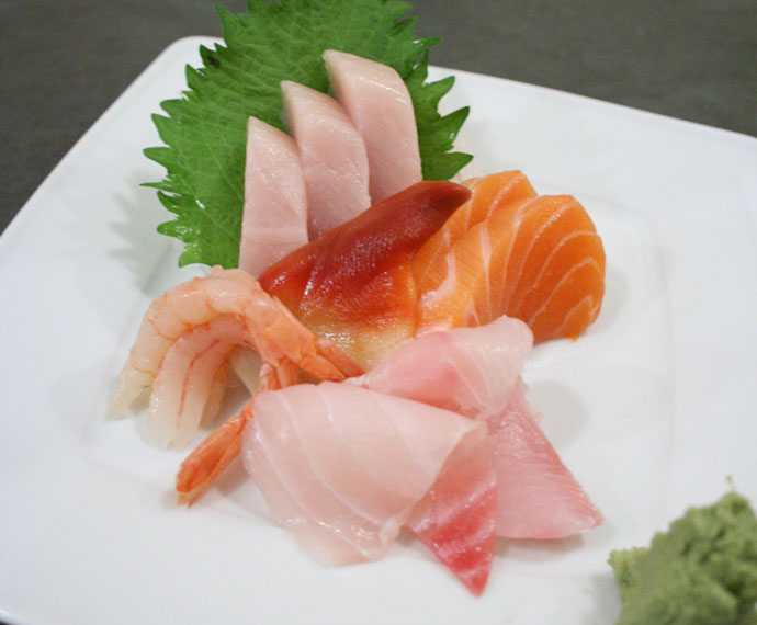 Assorted Japanese Sashimi