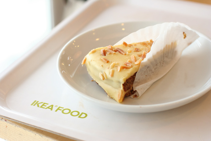 Swedish Dessert pastry from Ikea restaurant in Coquitlam BC Canada (a suburb of Vancouver). Around $2.00.