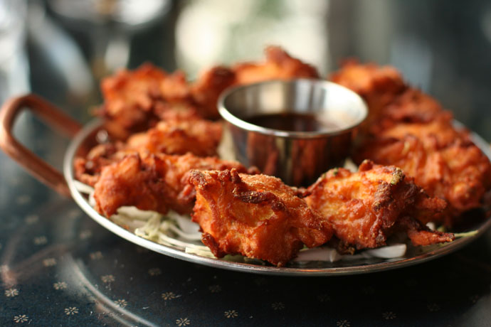 Onion Bhajis ($6.99, appetizer from Indian Oven restaurant in Vancouver).