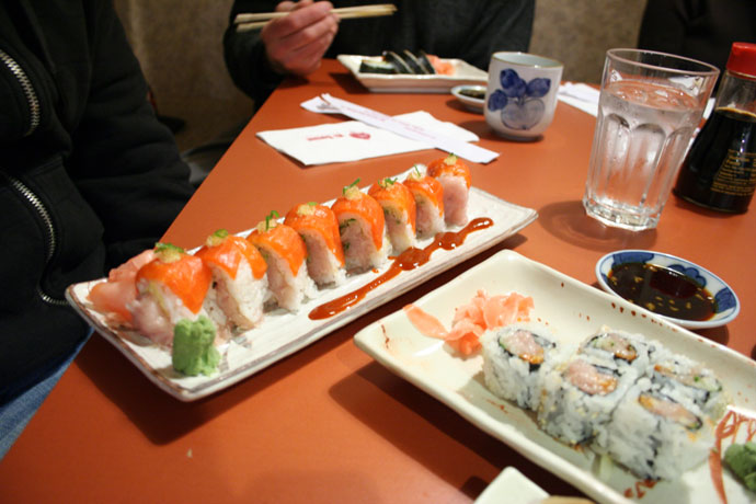 Some more sushi rolls from Ki Sushi in New West.