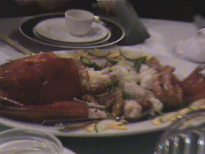 Still image from the video (Lobster) from the Kirin Chinese Restaurant in Vancouver (City Square).