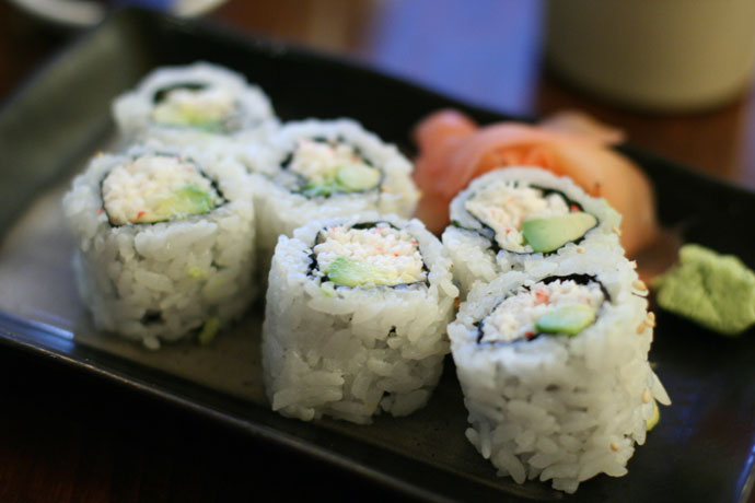 Japanese California Roll sushi