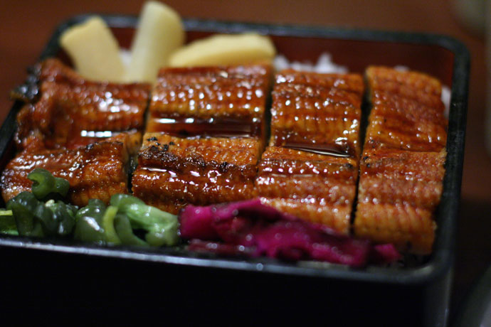 Unagi Don (Japanese BBQ Eel served on rice) - $11.25