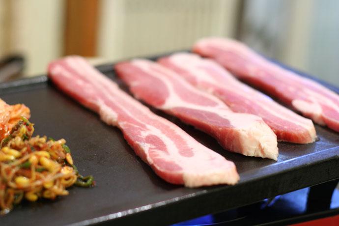 Korean fried pork