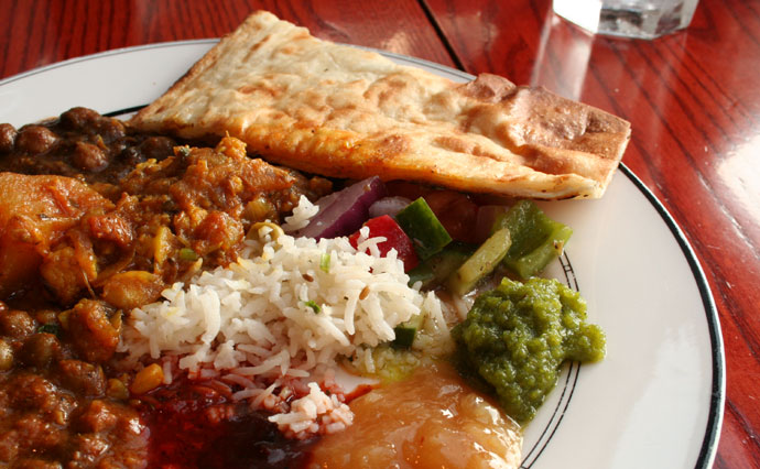 Lunch Buffet ($11.95) from New India Buffet restaurant in Vancouver (Great Indian food with a view)