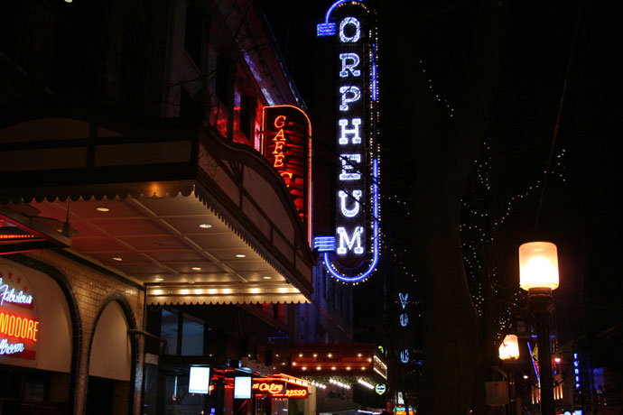 Orpheum Theatre Vancouver