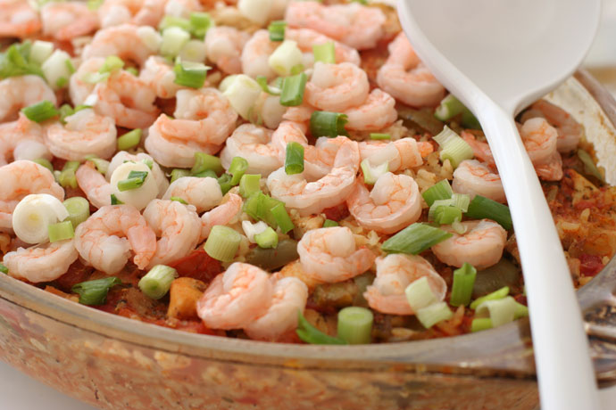 Prawn Jambalaya