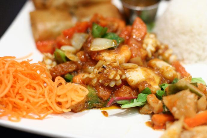 Singaporean Seafood Platter