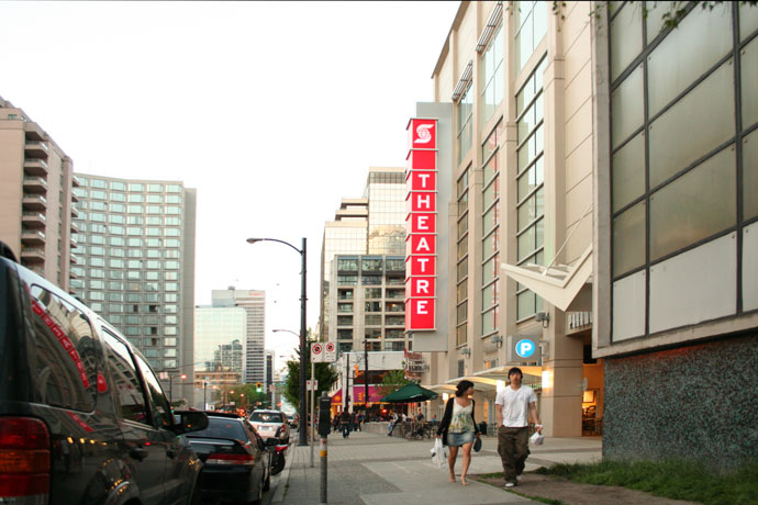 Scotia Bank Theatre in downtown Vancouver