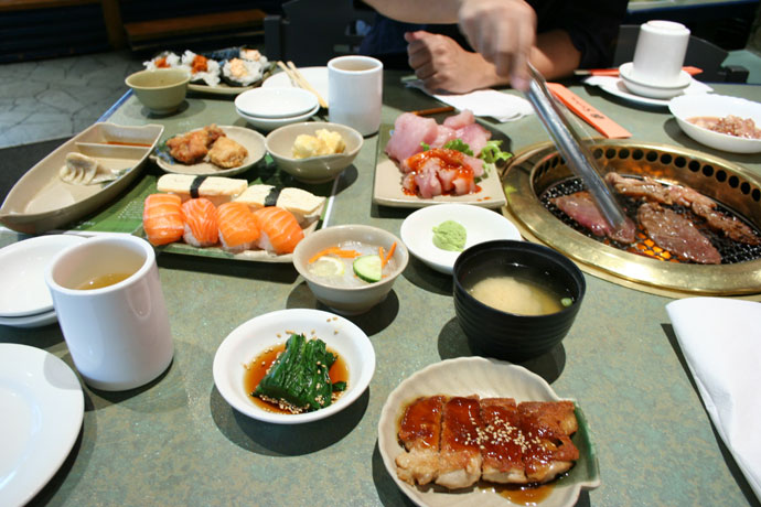 All you can eat sushi in Vancouver