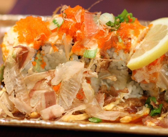 The signature dish, of Sushi Town: