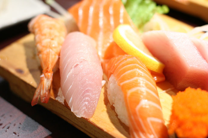 Sushi and Sashimi combo at Sushi Town ($7.75)
