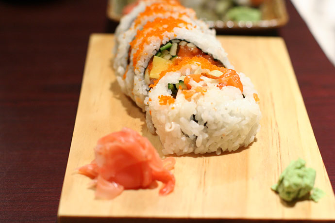 House Roll ($4.95) from Sushi Town Japanese Restaurant in Burnaby, BC, Canada.