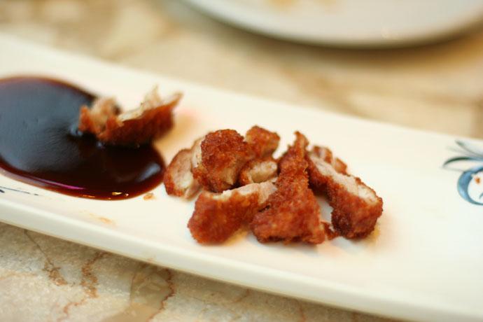 Chicken katsu (breaded chicken cutlet)
