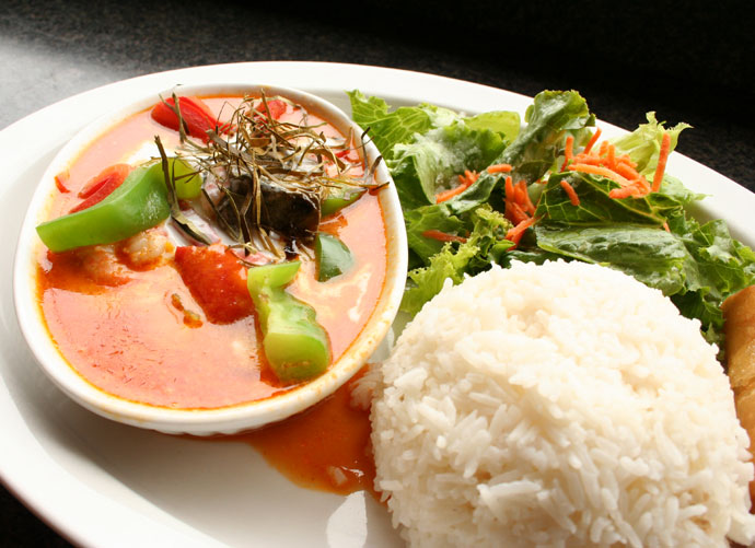 Panang Curry Thai Food