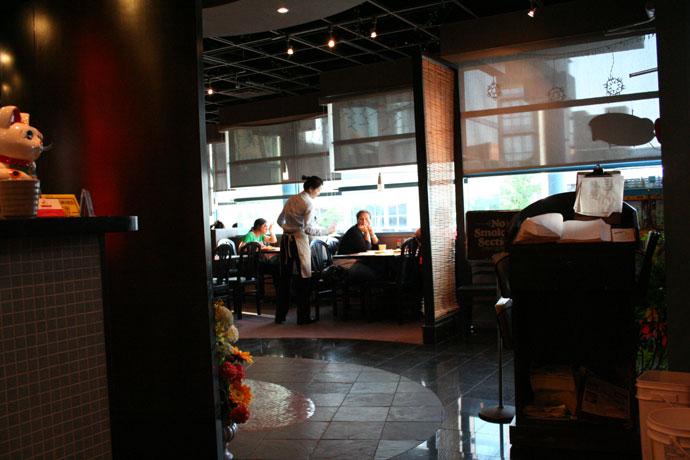 Tomokazu Japanese Restaurant interior