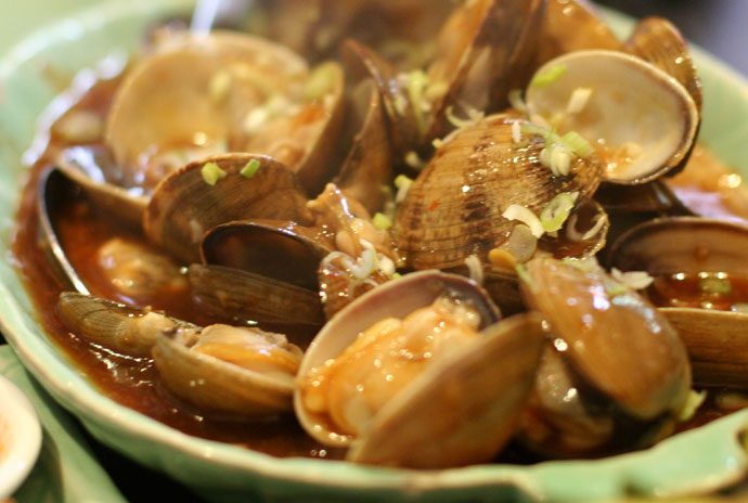 Sambal Clams ($13.95) from Tropika on Robson