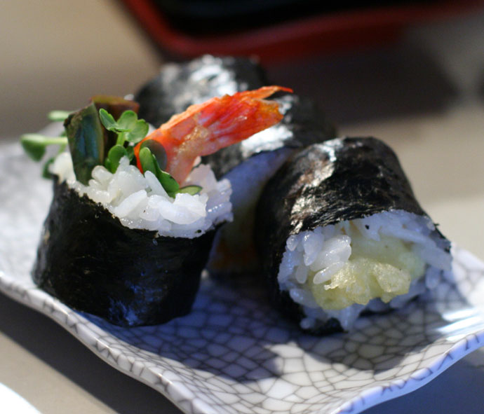 Vancouver sushi Robson Street