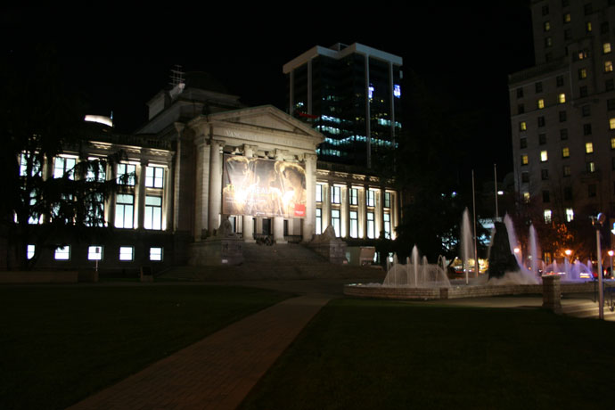 Vancouver Art Gallery downtown
