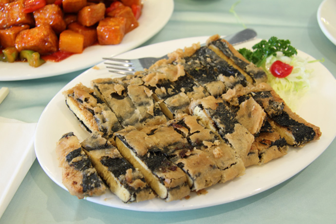 Another great Chinese vegetarian / vegan dish from Whole Vegetarian Chinese food restaurant on Main Street in Vancouver BC Canada.