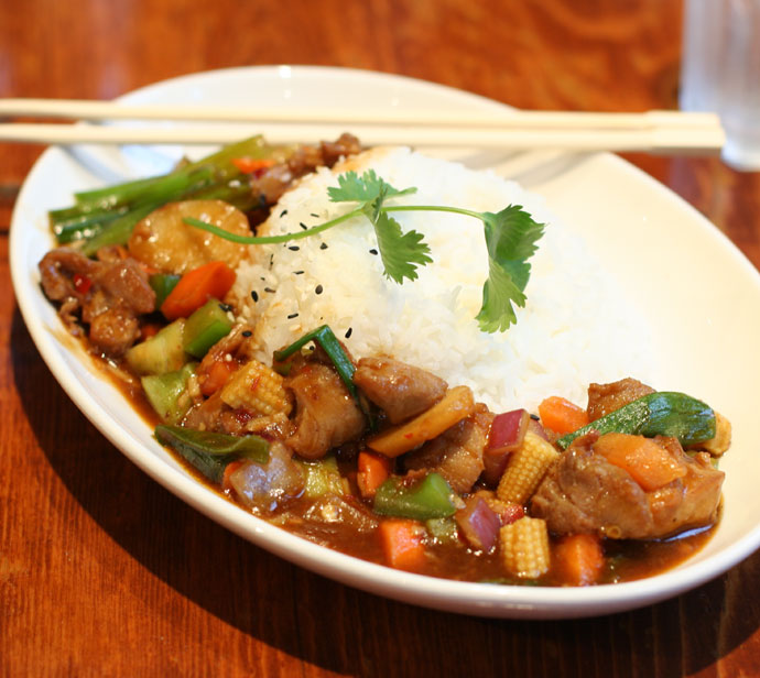 Kung Pao Chicken ($9.99) from Yaletown Brewing Company in Vancouver, BC, Canada.