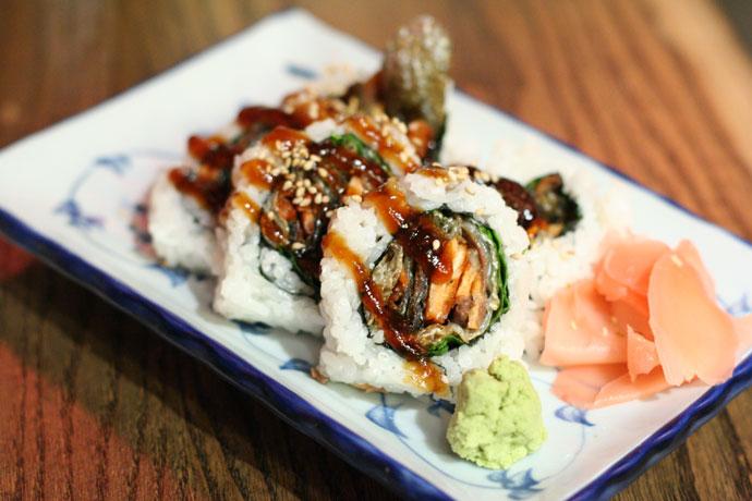 Japanese BC Roll Maki Sushi
