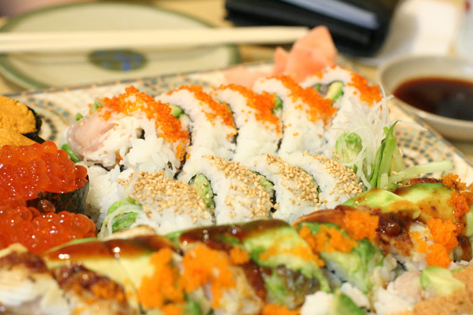 Sushi from Asakusa Japanese Restaurant in Burnaby