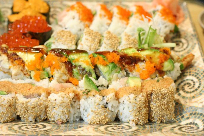 More sushi from Asakusa Japanese Restaurant near Metrotown.