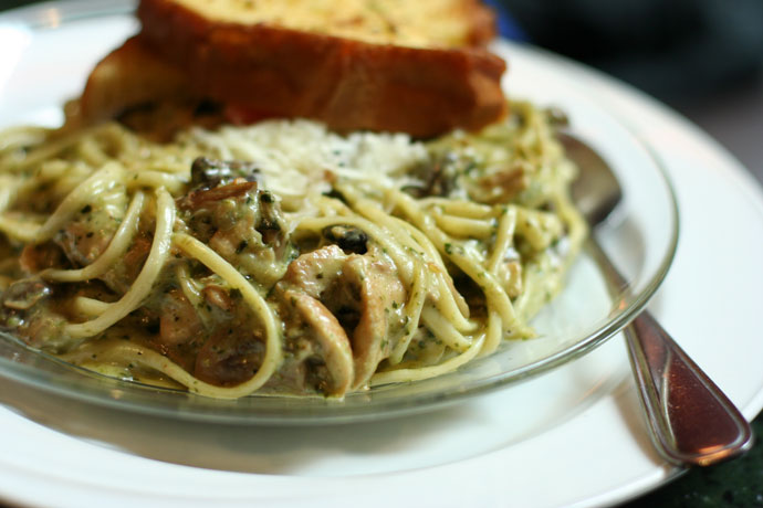 Chicken Pesto Pasta ($13.99)
