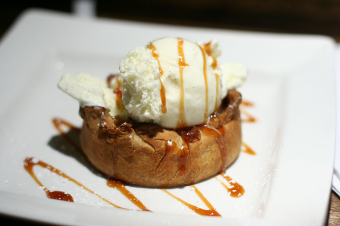 Fresh baked apple pie at Cactus Club ($7.50)