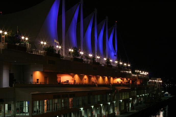 Canada Place - Vancouver's convention centre