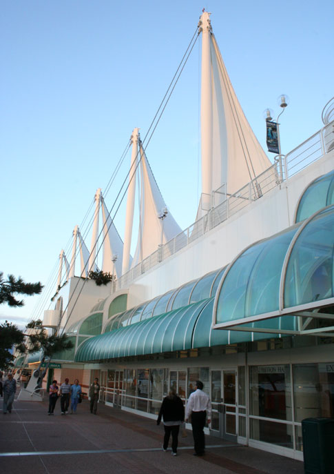 Canada Place - Vancouver's cruise ship terminal