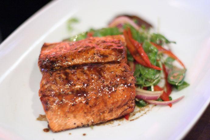 Wild BC Salmon at Goldfish Pacific Kitchen ($22)