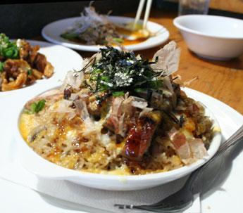 BBQ Eel with mushroom rice