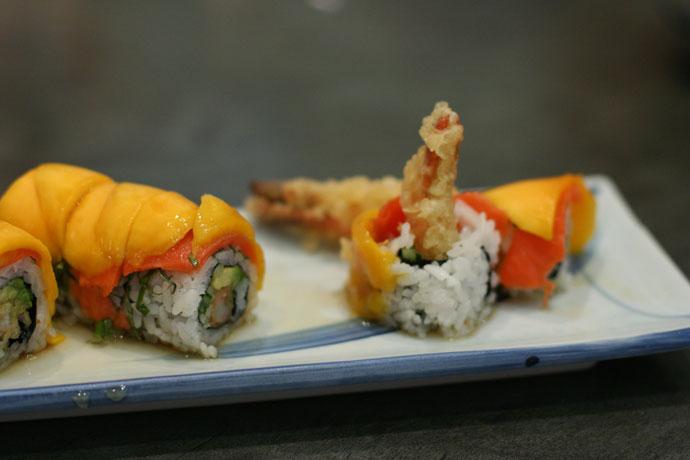Sunshine Roll sushi