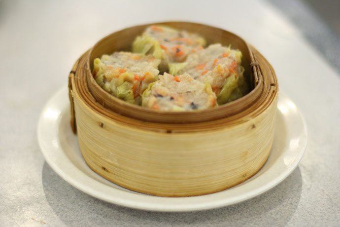 Vegetarian Siu Mai dim sum (Chinese food)