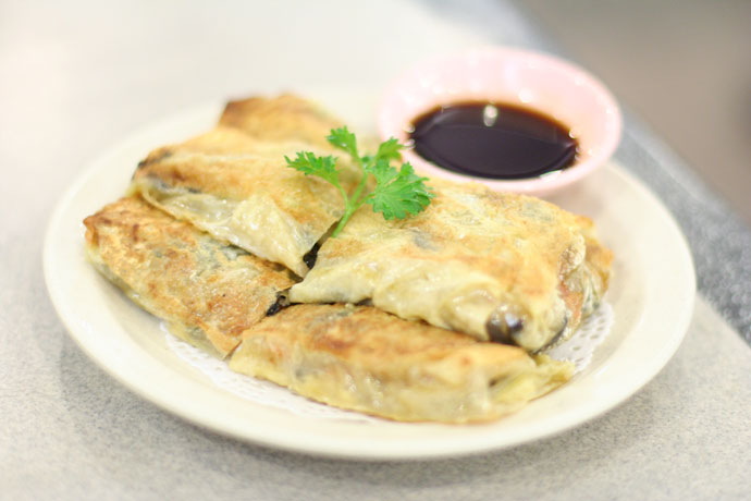 Chinese Vegetarian Bean Curd Roll ($2.75)