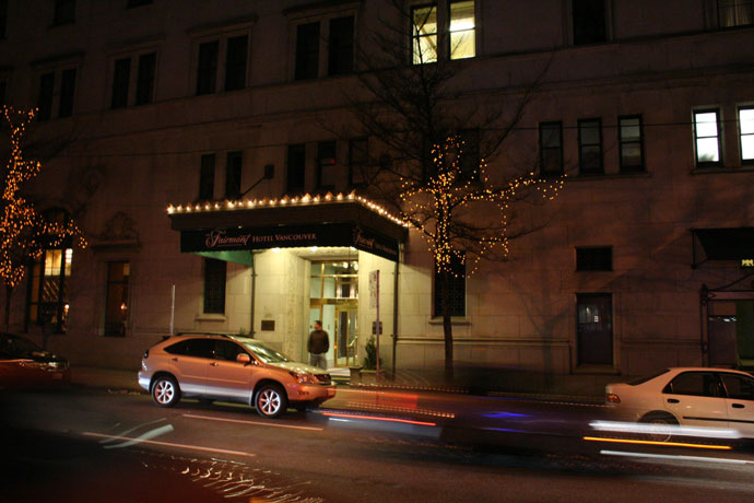 Hotel Vancouver, in Downtown Vancouver, BC, Canada