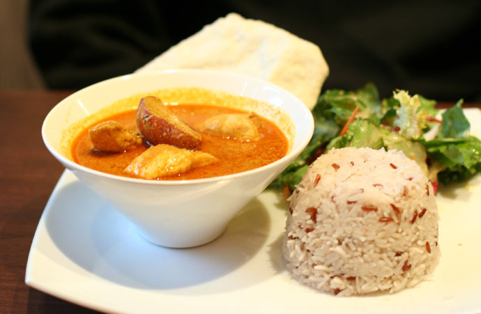 Curry from Jonker St Malaysian Restaurant in Vancouver.