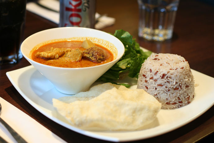 Malaysian Curry from Jonker Street Restaurant, Vancouver