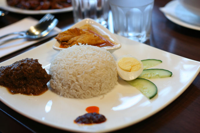 More Malaysian food.