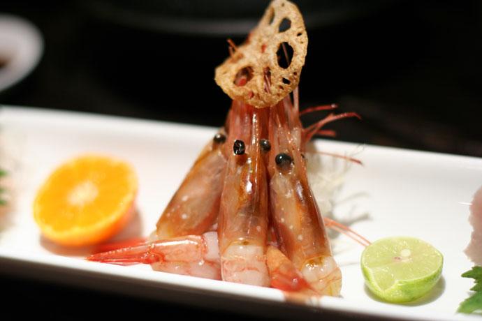 more of the sashimi (prawn)