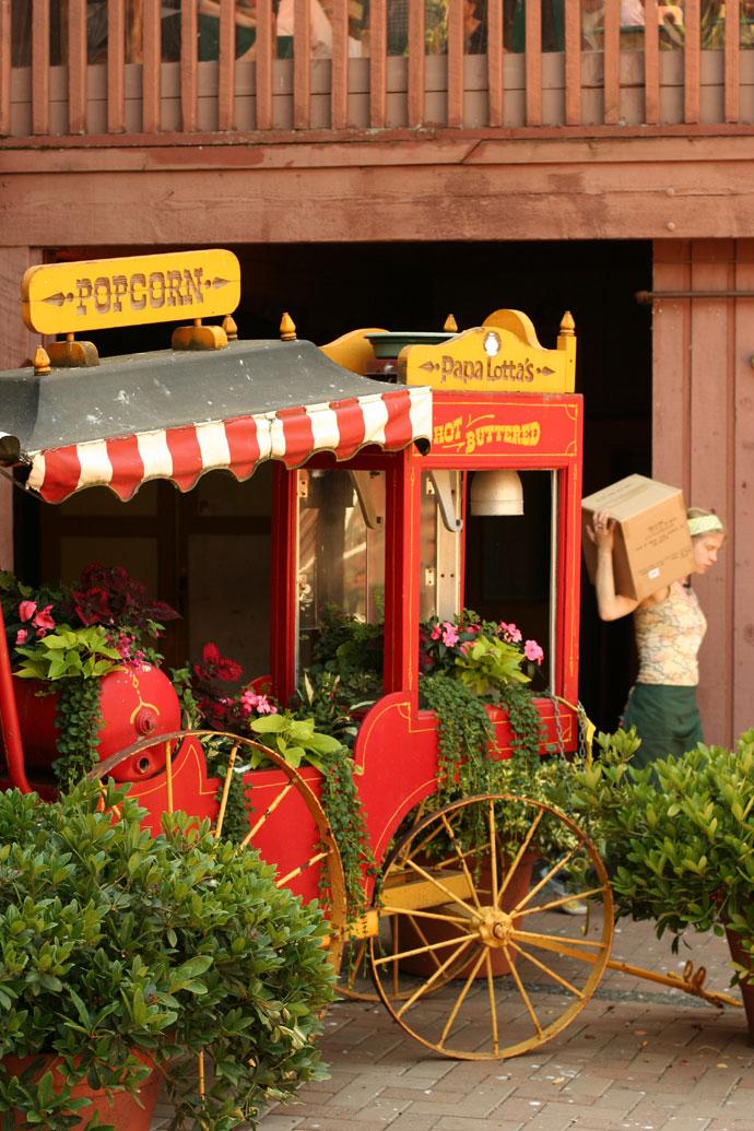Popcorn Machine at Market Square in Victoria